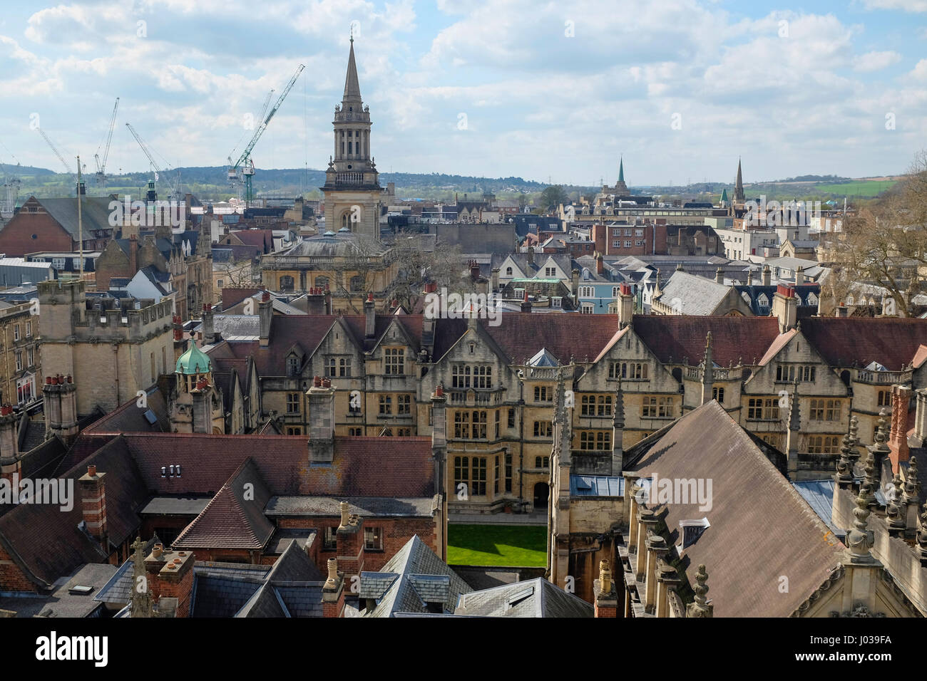 Oxford Skyline - Stock Image