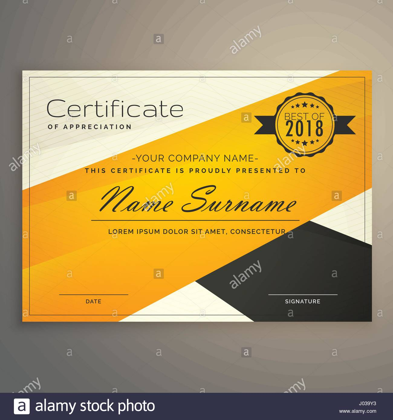 Certificate Template Diploma Template Abstract Stock Photos