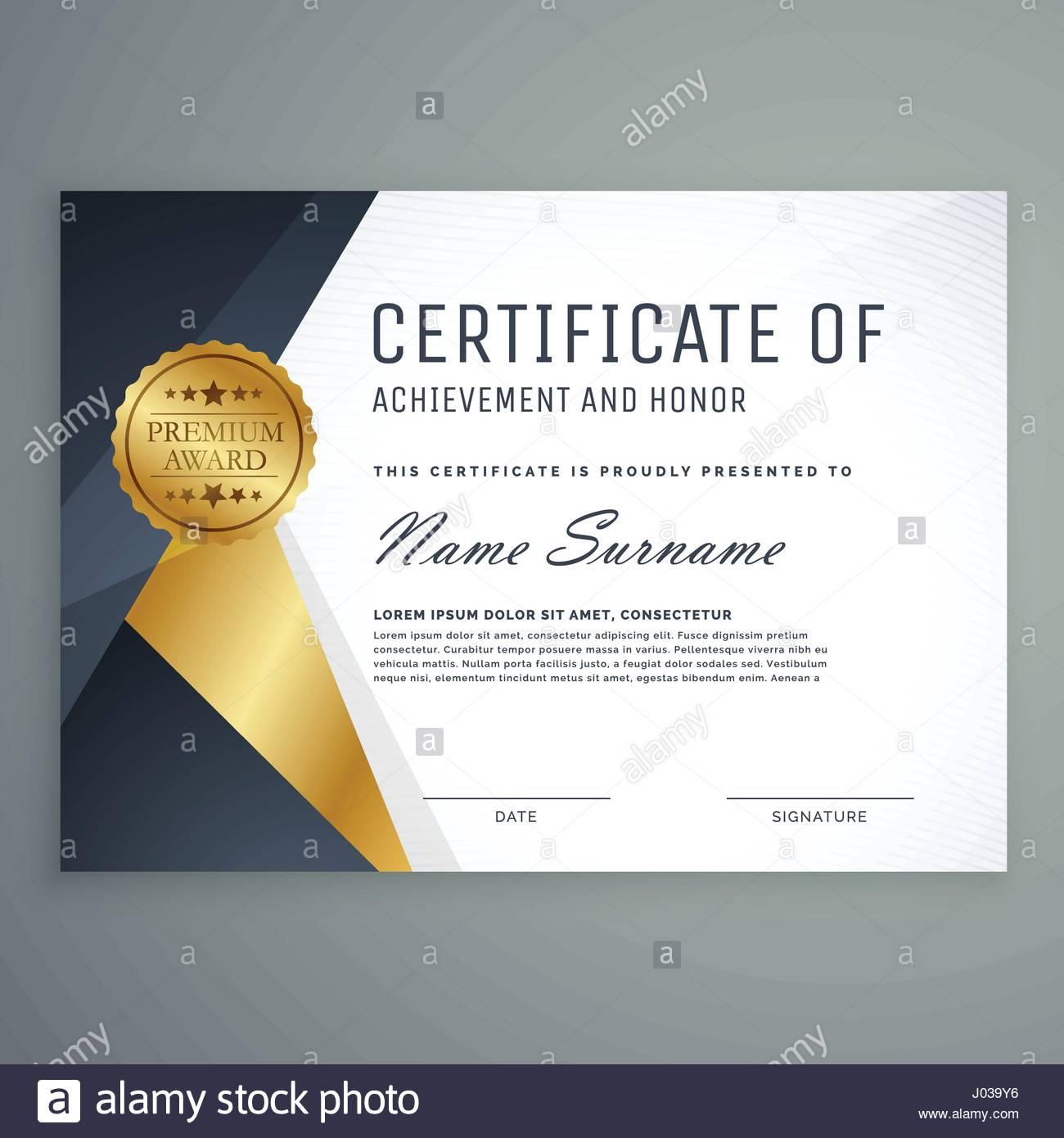 Premium certificate of appreciation award design stock vector art premium certificate of appreciation award design yadclub Gallery