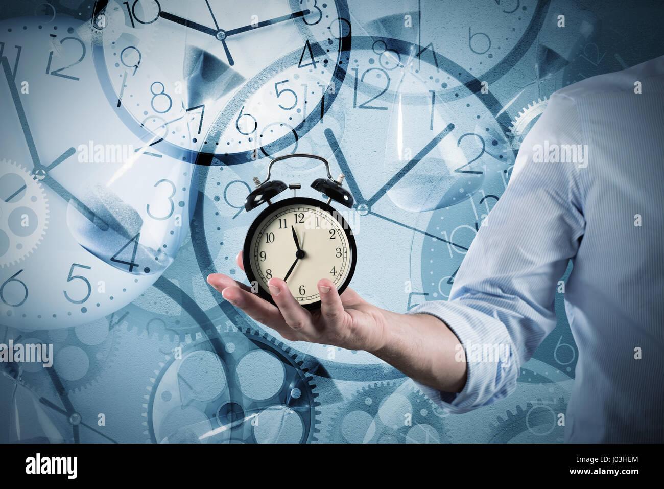 Alarm clock - Stock Image