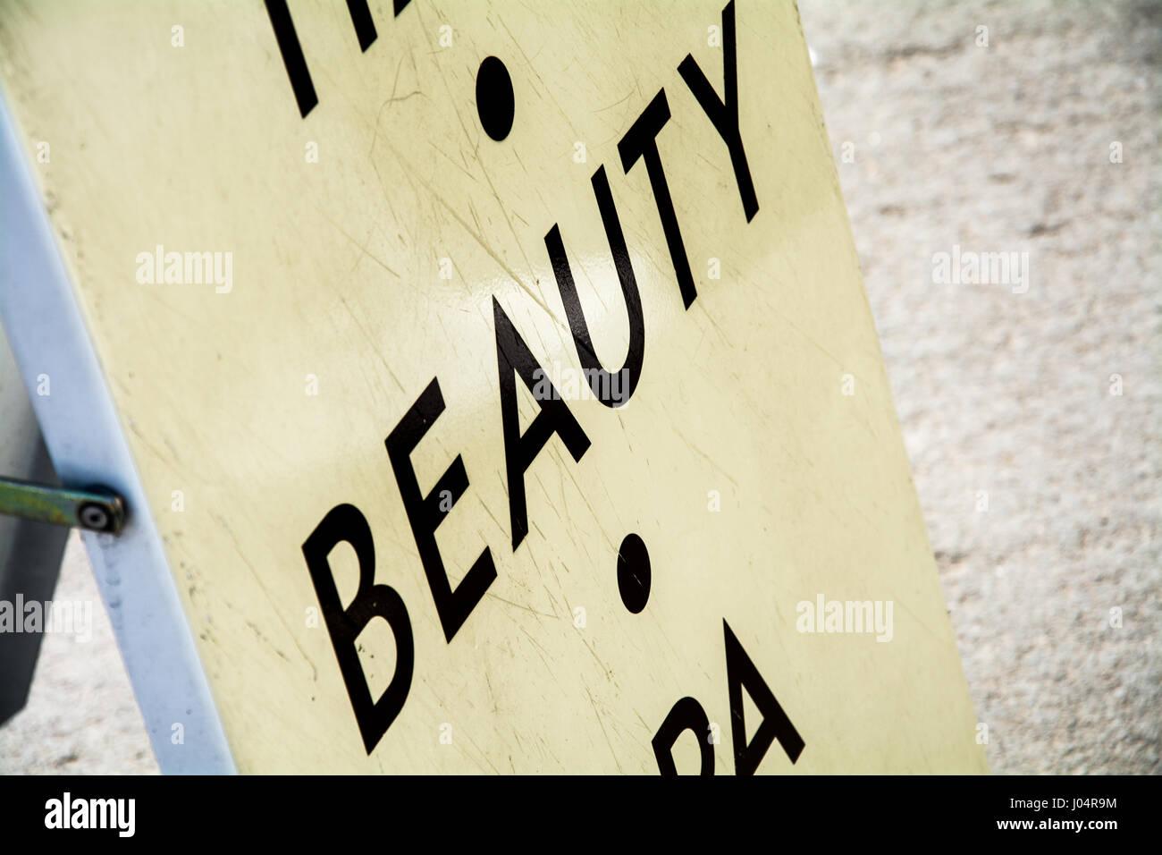 Beauty Salon Sign Stock Photos Amp Beauty Salon Sign Stock