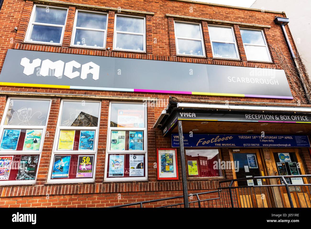 YMCA Scarborough YMCA Theatre Scarborough YMCA Scarborough Youth Organisation & Theatre YMCA Scarborough building - Stock Image