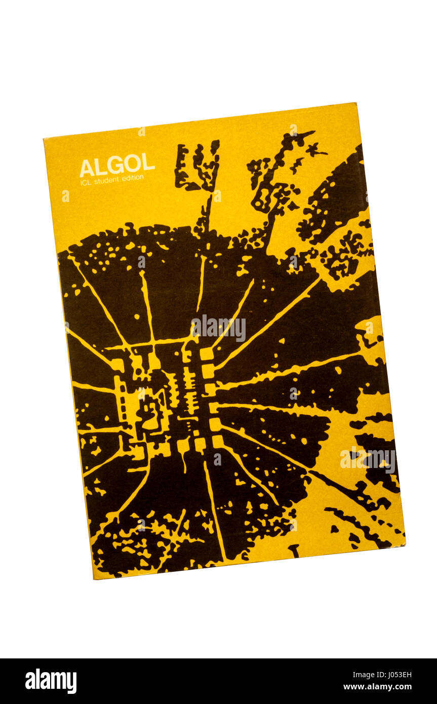 Student edition of the ICL Algol programming language manual.  First published in 1965. - Stock Image