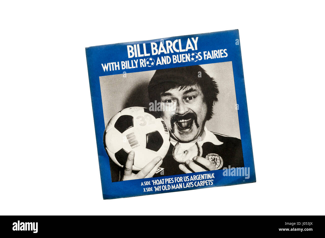 1978 World Cup novelty record, Hoat Pies For Us Argentina, by Bill Barclay with Billy Rio and Buenos Fairies. - Stock Image