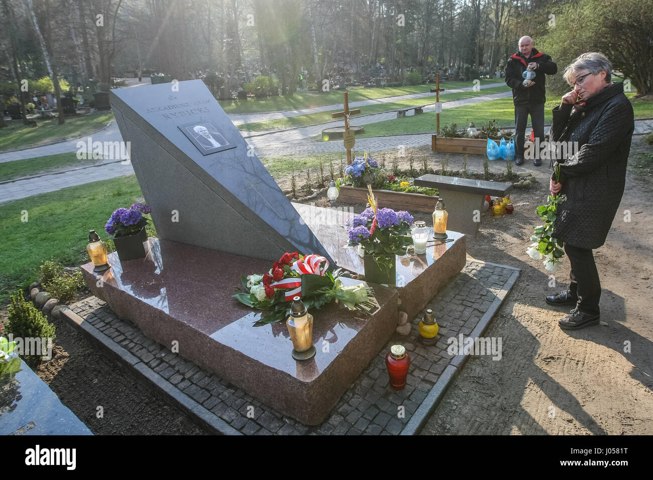 Gdansk Poland 10th April 2017 Aram Rybicki Grave Is Seen On 10 Stock Photo Alamy s11 euw chall | how to dominate the jungle as graves. alamy