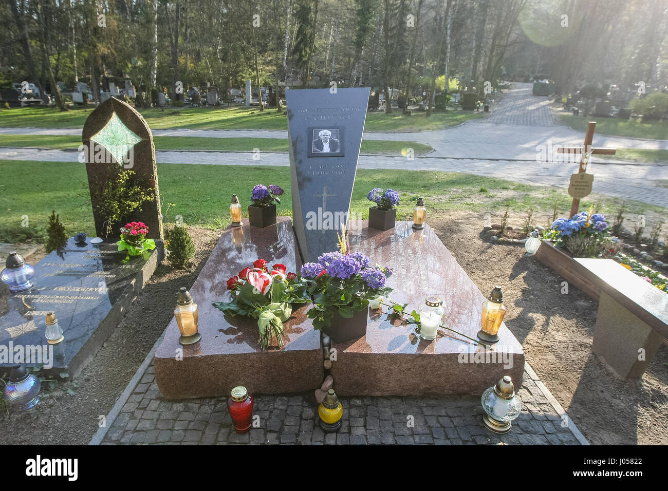 Gdansk Poland 10th April 2017 Aram Rybicki Grave Is Seen On 10 Stock Photo Alamy With matchups, skill order and best items, this graves guide. alamy