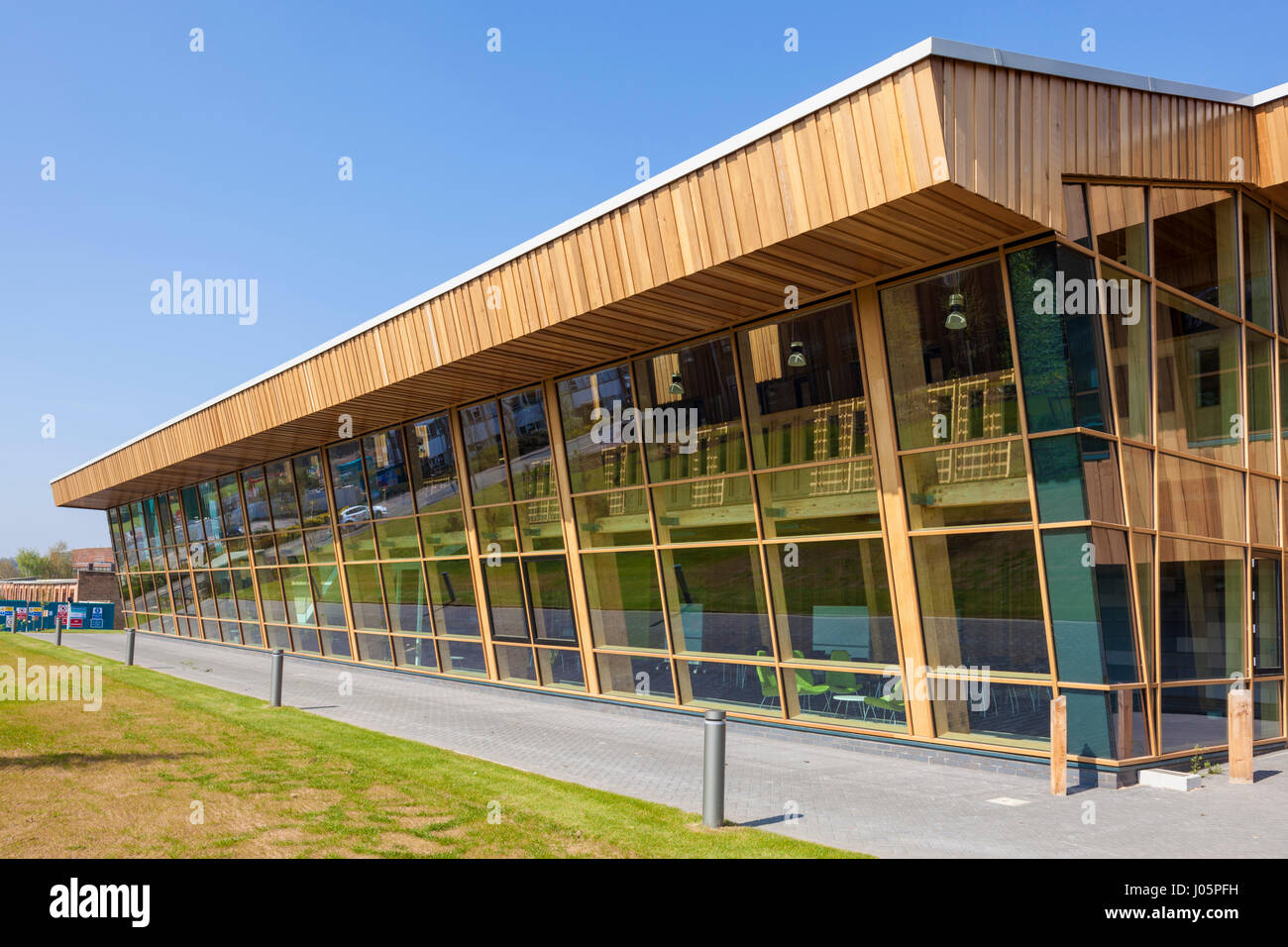 nottingham university GSK carbon neutral laboratory for sustainable chemistry building Jubilee campus nottingham - Stock Image