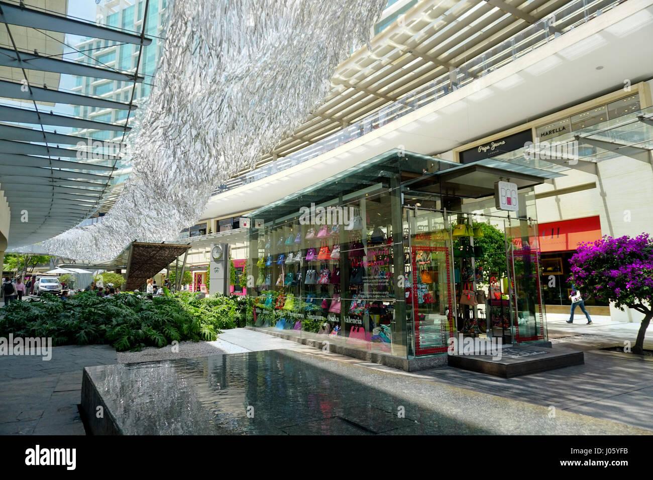 Antara Polanco shopping mall in the wealthy Polanco neighborhood of Mexico City, Mexico - Stock Image