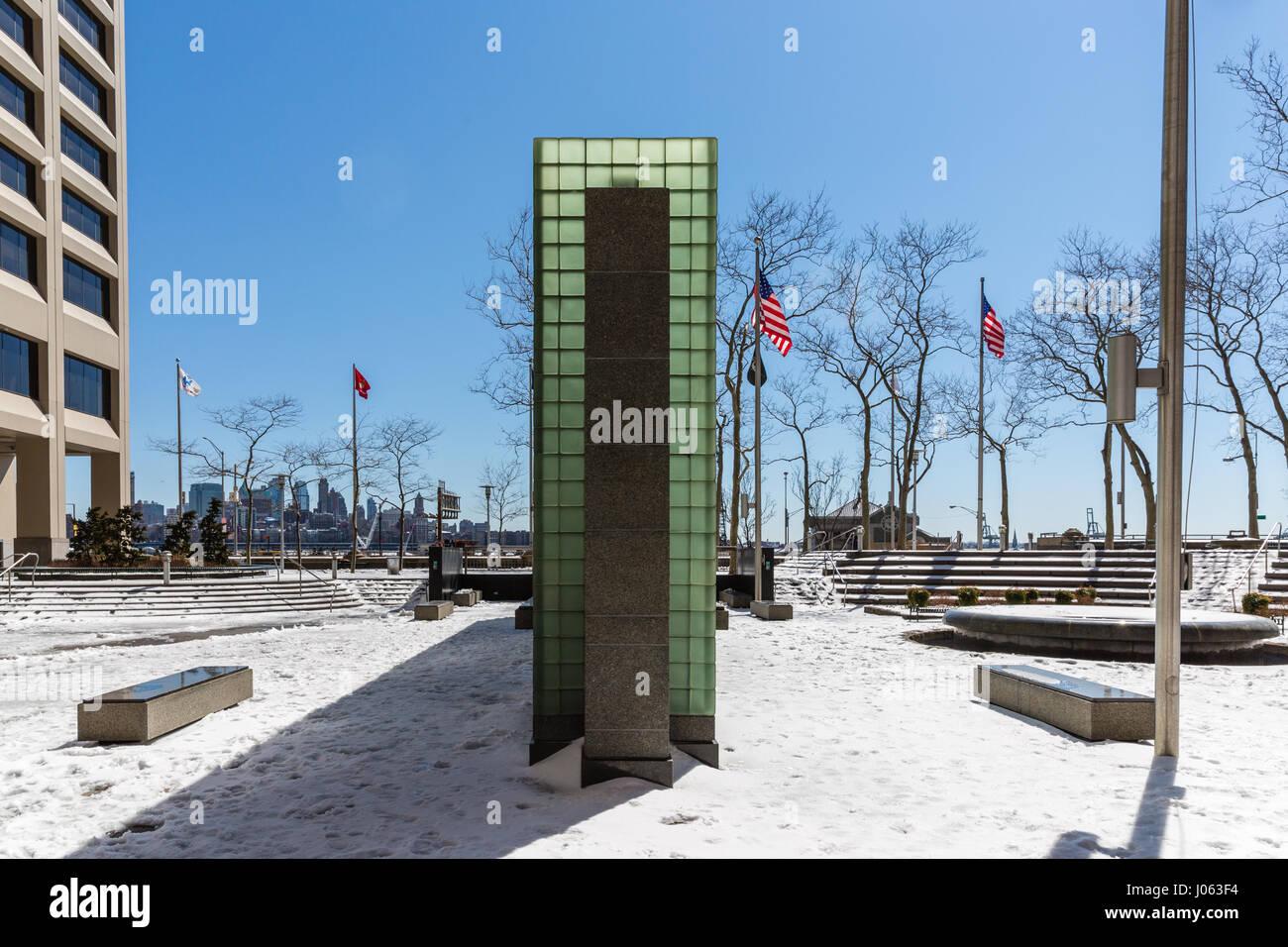 New York Vietnam Veterans Memorial, Water Street, Manhattan - Stock Image