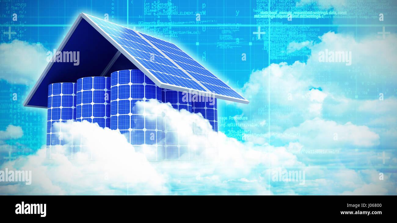 Solar Panel At Night Stock Photos & Solar Panel At Night Stock ...