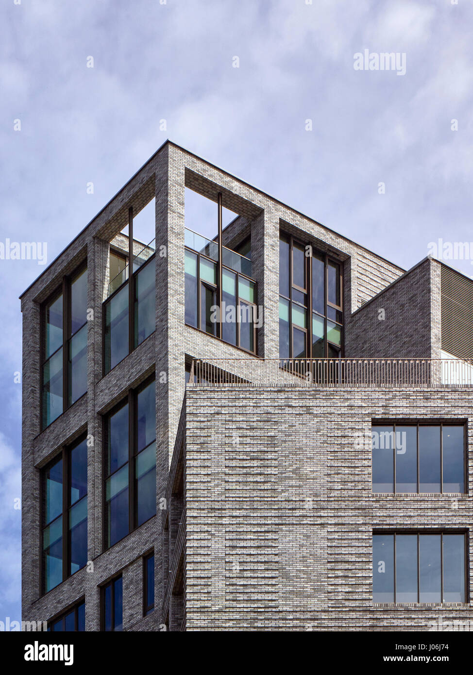 Lantern. 55 Victoria Street, London, United Kingdom. Architect: Stiff + Trevillion Architects, 2016. - Stock Image