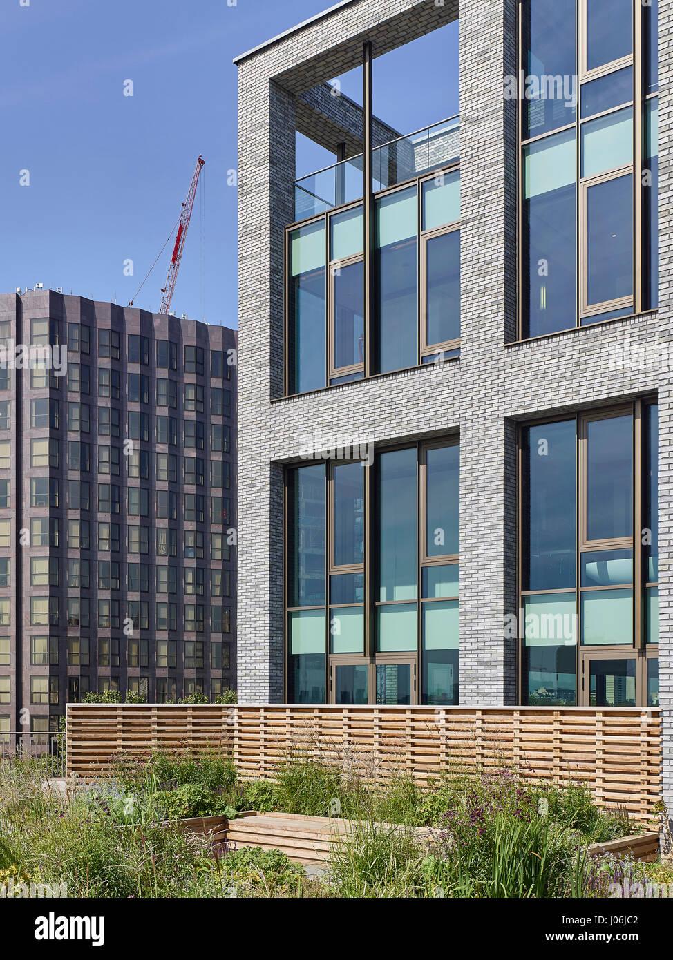 General view. 55 Victoria Street, London, United Kingdom. Architect: Stiff + Trevillion Architects, 2016. - Stock Image