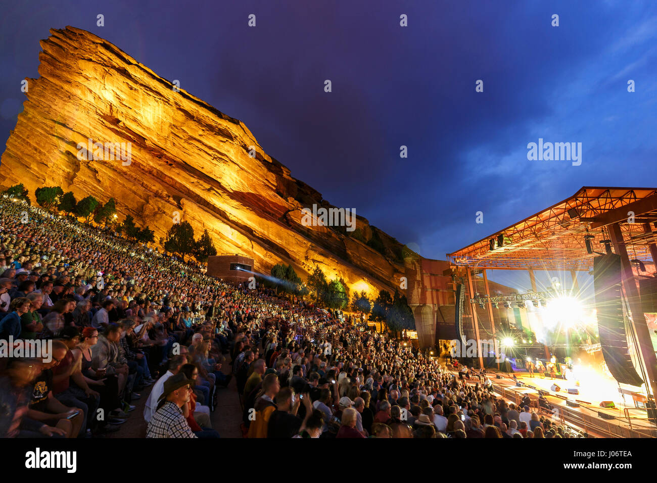 Red Rocks Amphitheatre Colorado Stock Photos & Red Rocks ...