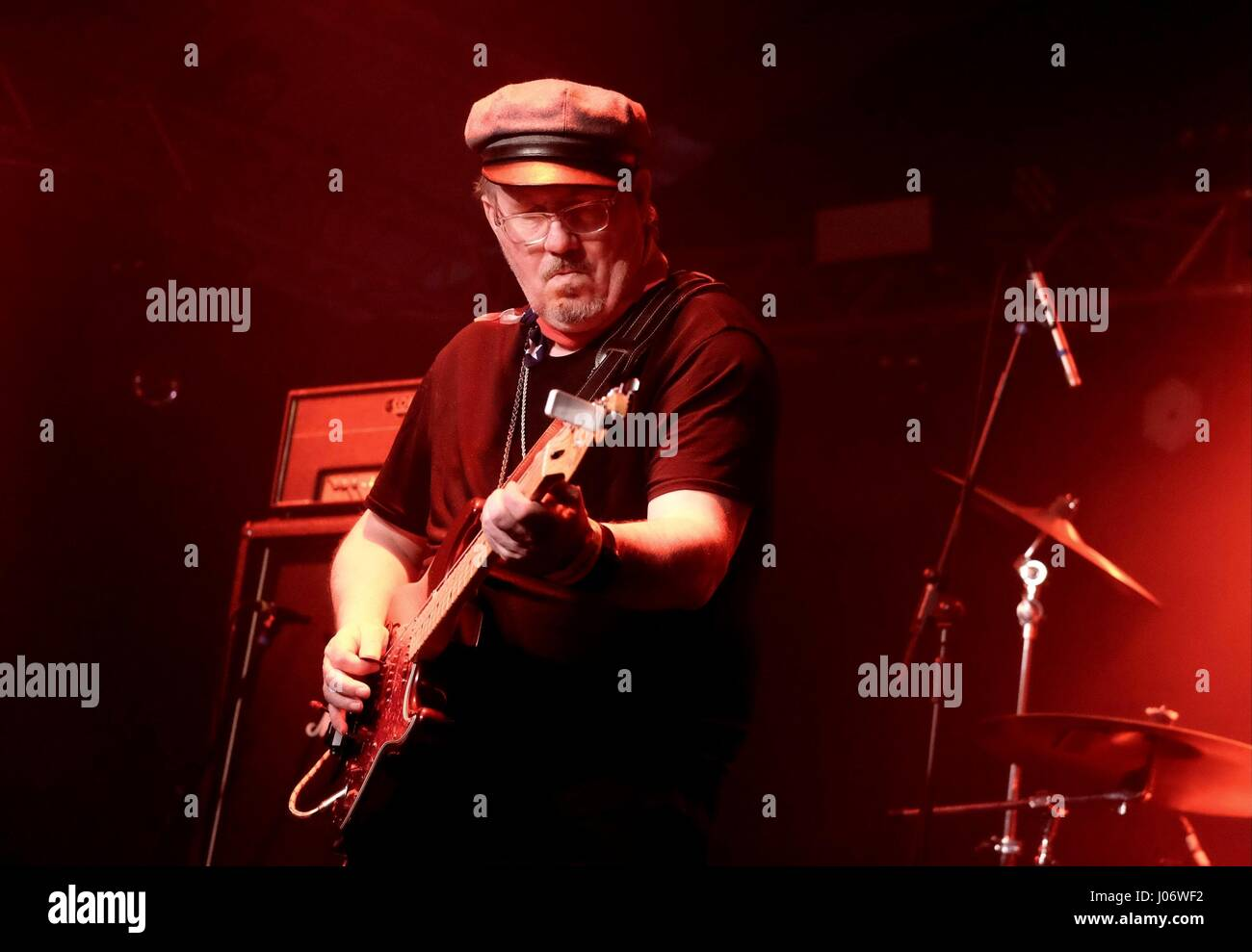 Jean-Marie 'JC' Carroll  vocalist with British punk band The Members - Stock Image