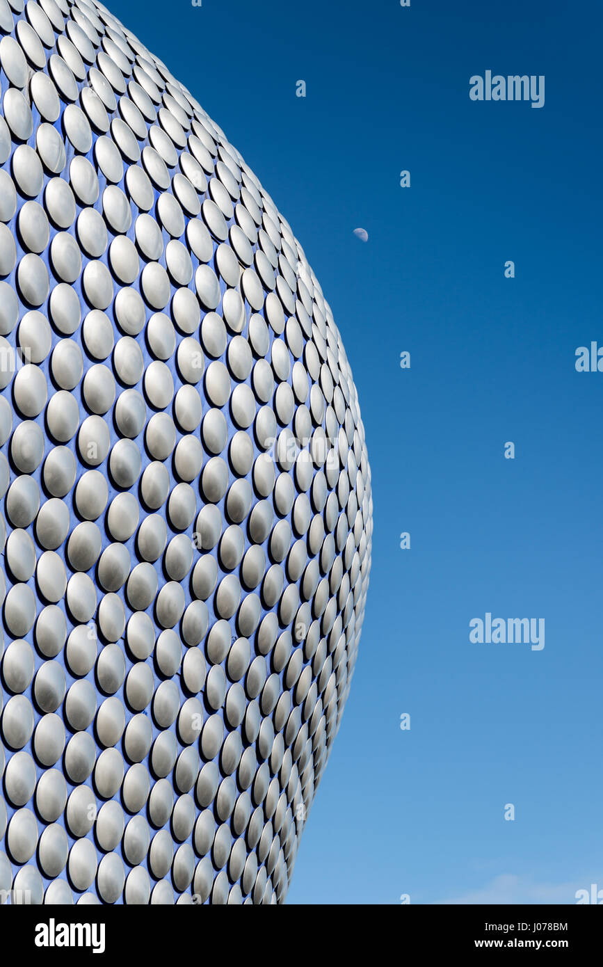The Bullring Shopping Centre, Birmingham. The Selfridges building - Stock Image