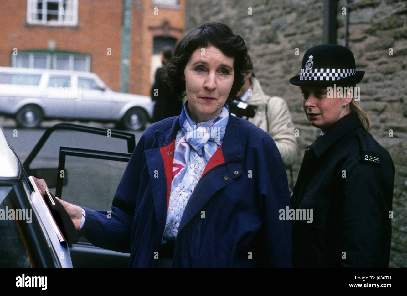 Baroness Susan De Stempel formerly Susan Wilberforce court appearance 1988 - Stock Image