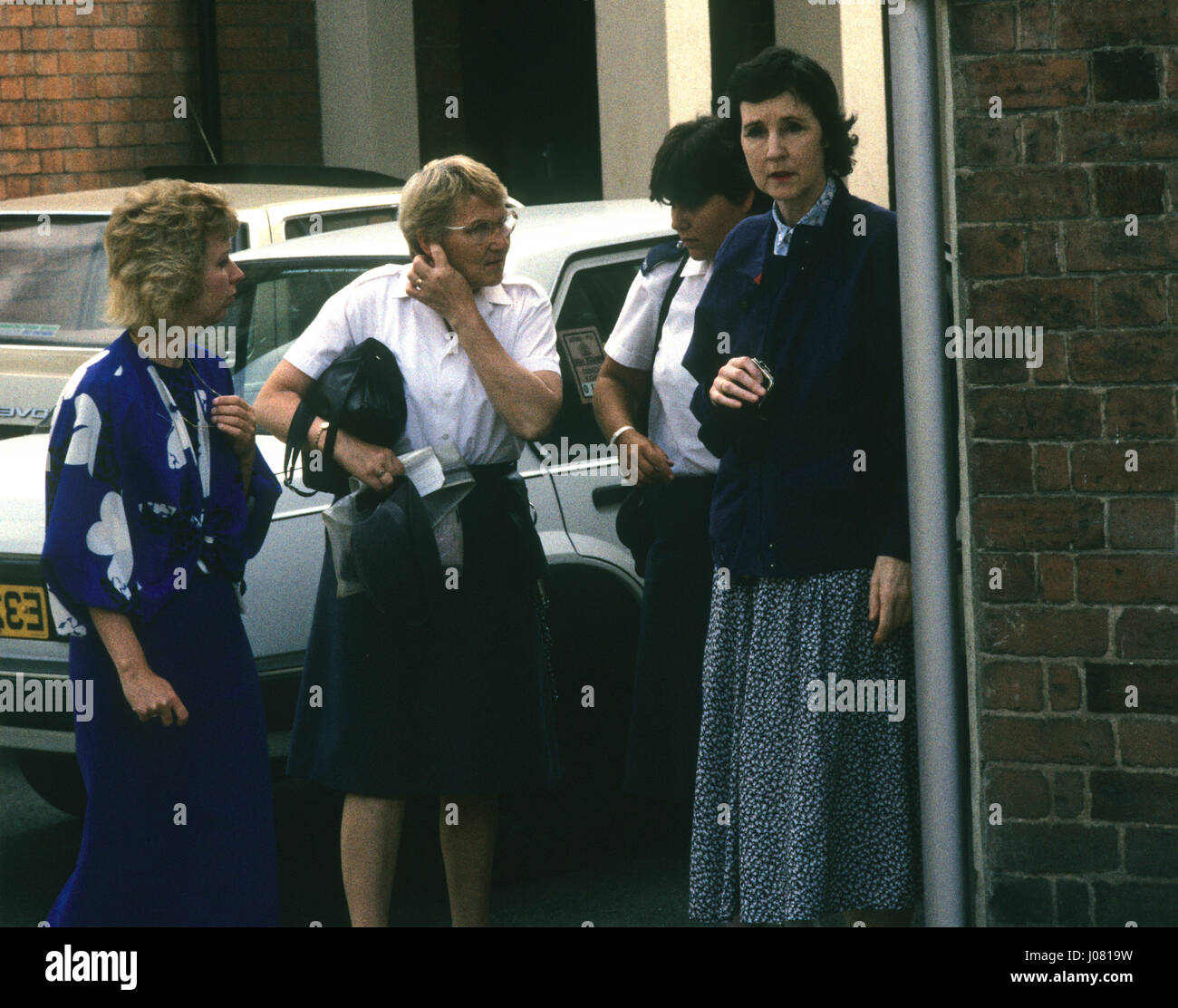 Baroness Susan De Stempel formerly Susan Wilberforce court appearance 1988 Stock Photo