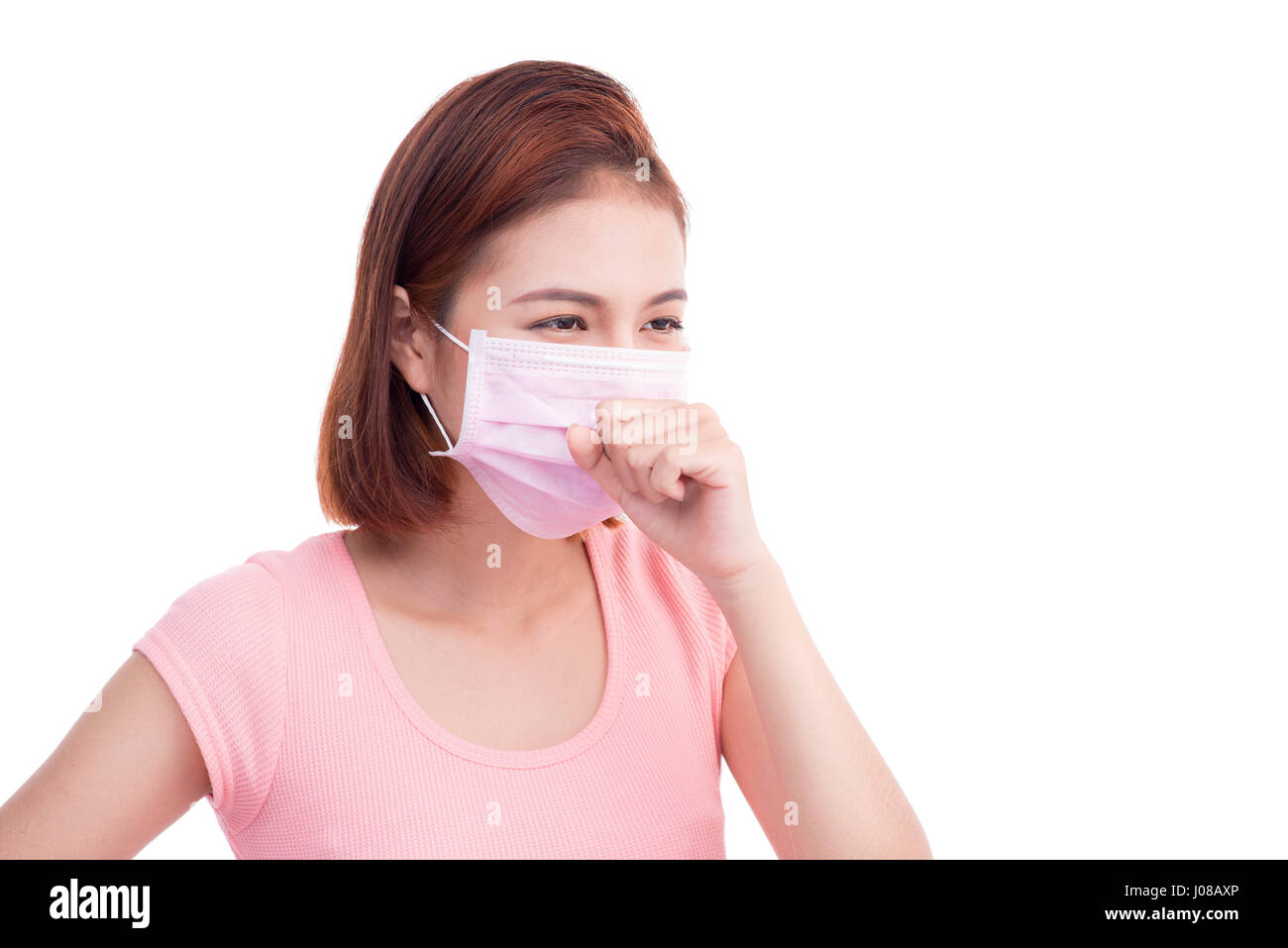 How to face wear mask when sick fotos