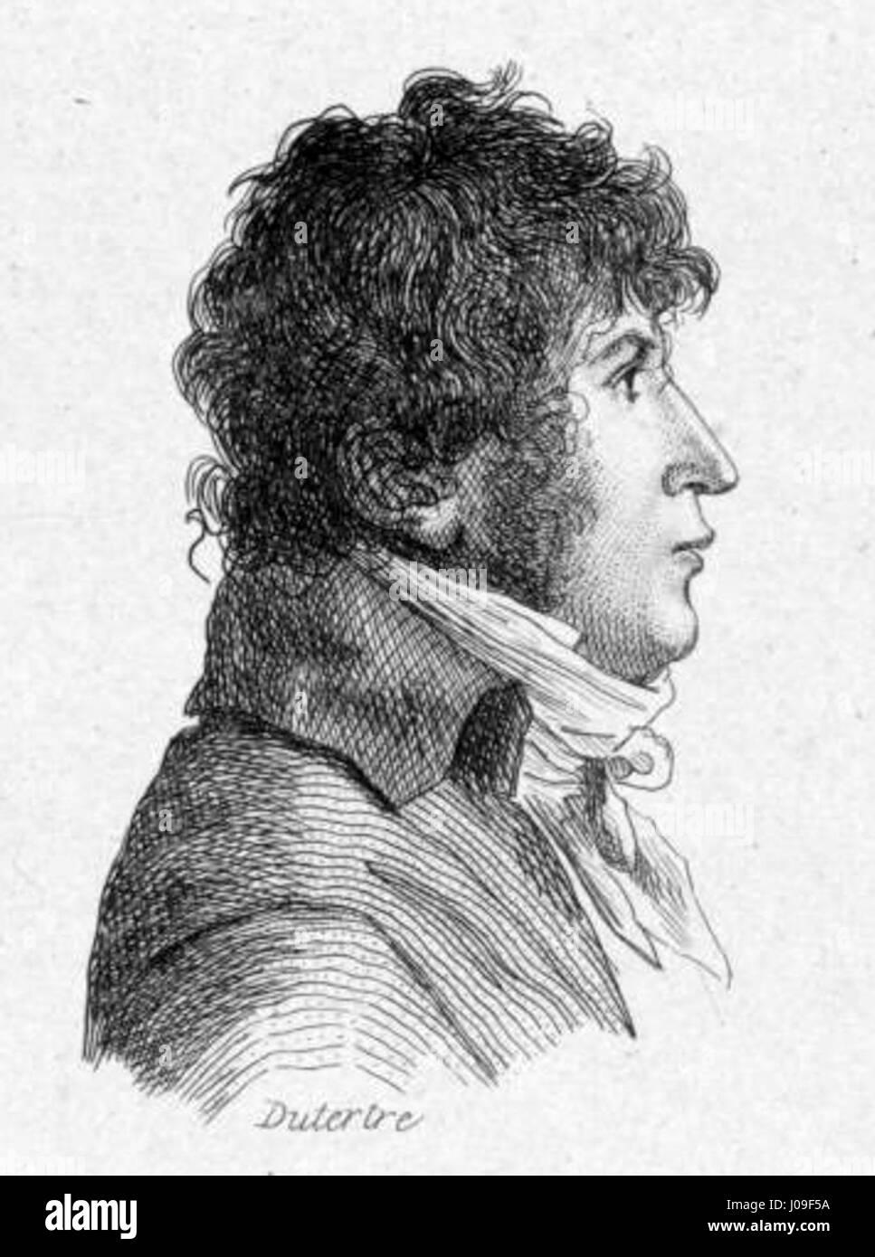 Henri-Joseph Rigel by André Dutertre - Stock Image