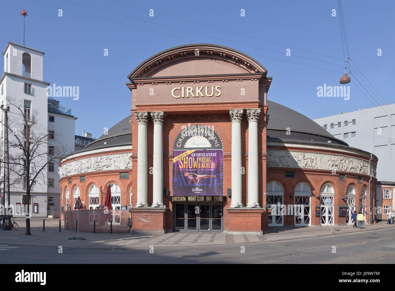 The old Cirkusbygning, the Circus Building, at Axeltorv in central Copenhagen. - Stock Image