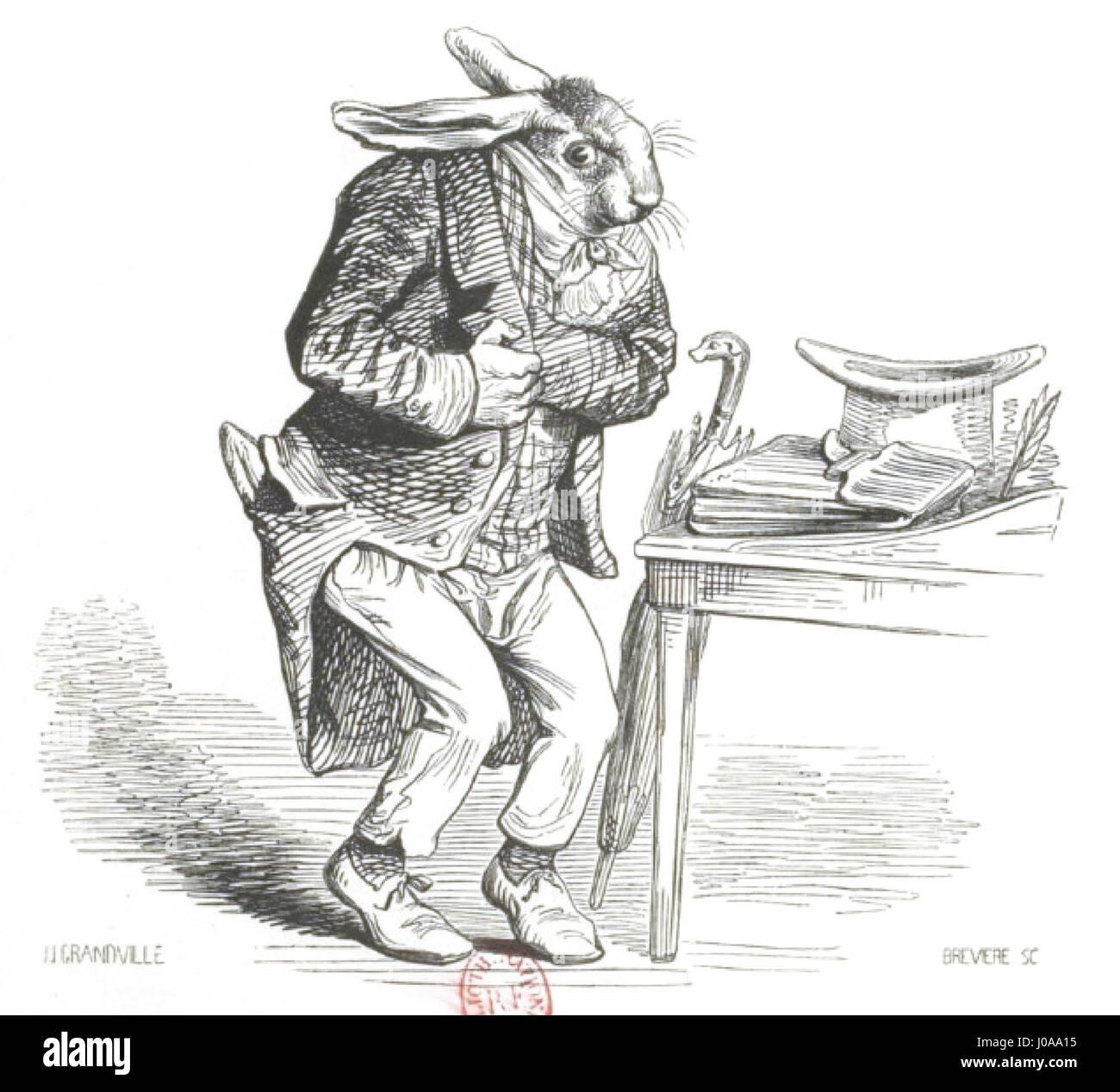 Scènes de la vie privée et publique des animaux, tome 1 0116 - Stock Image