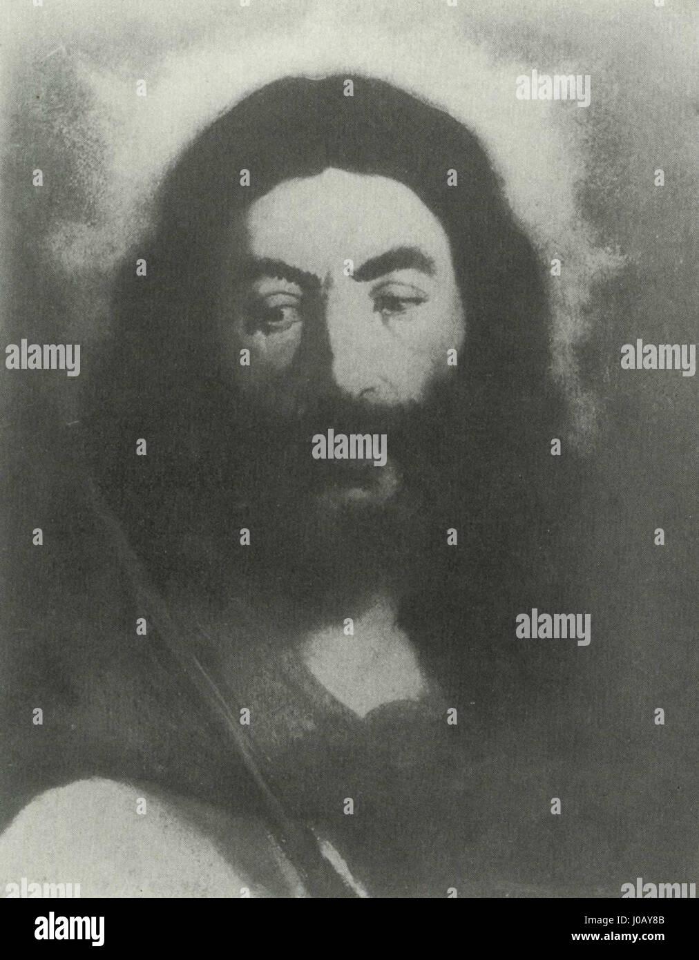Édouard Manet - Christ au rosseau (RW 13) - Stock Image