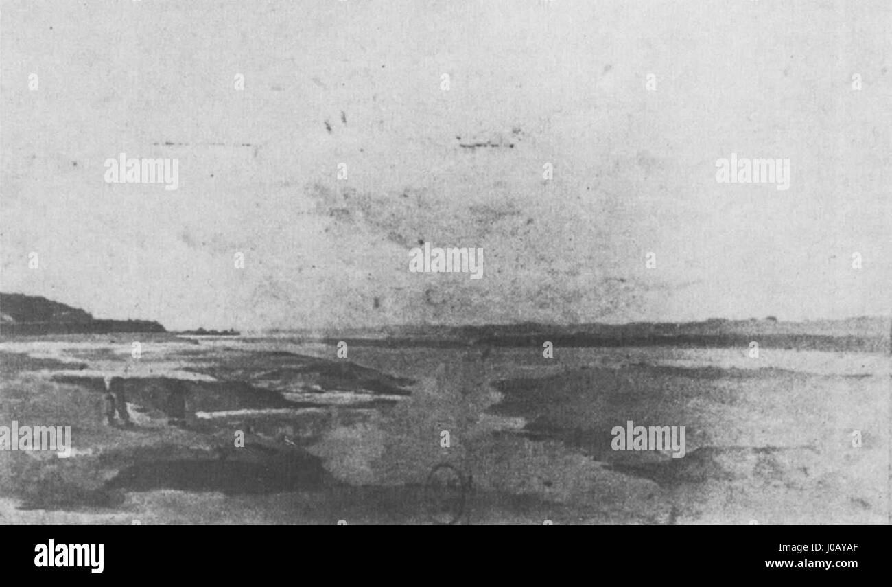 Édouard Manet - Plage à marée basse (RW 199) - Stock Image