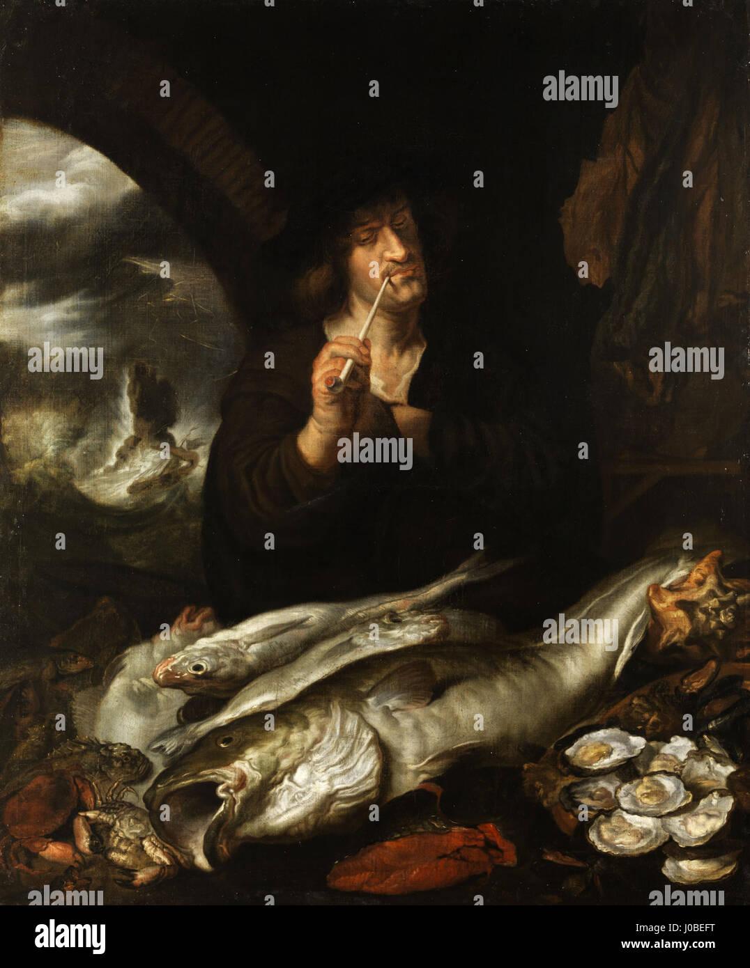 Joachim von Sandrart - Allegorische Darstellung des Monats März - Stock Image