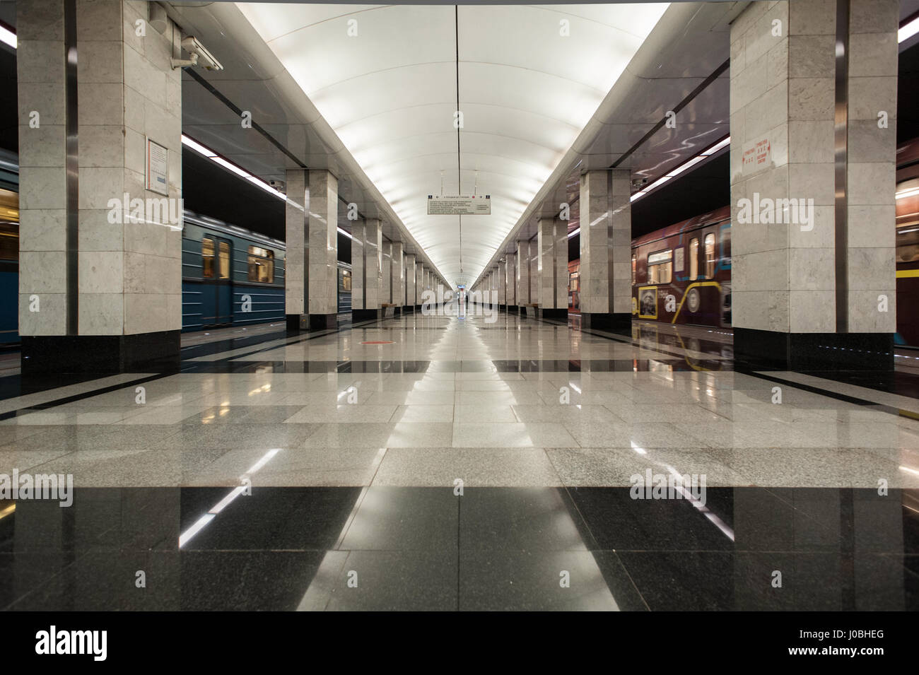 In Moscow, the opening of two metro stations is scheduled for a month on the Butovskaya line 35