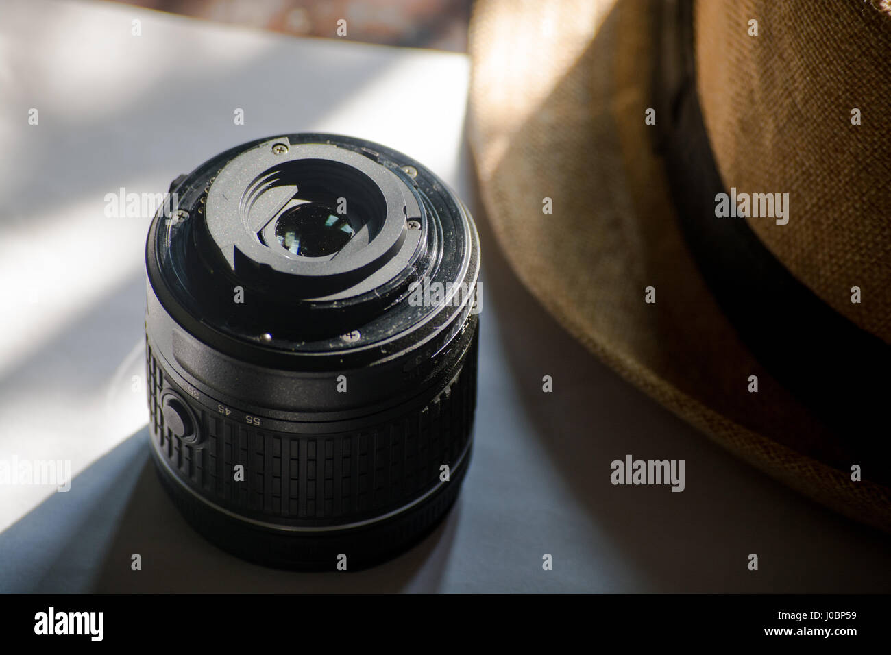 Dslr Camera Lens In Vintage Style Best For Wallpapers And Stock Photo Alamy
