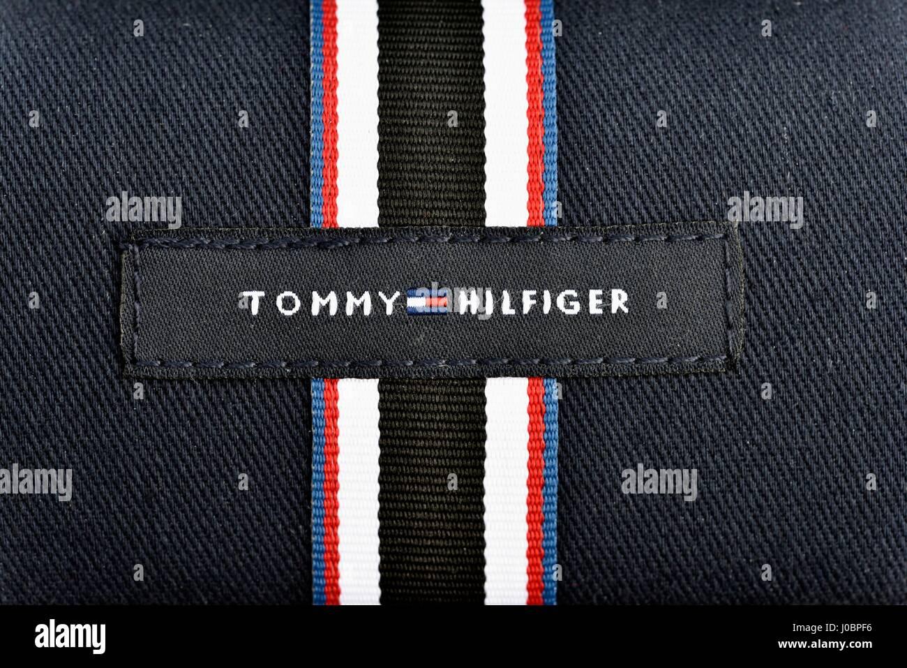 7e41f1ed Tommy Hilfiger Logo Stock Photos & Tommy Hilfiger Logo Stock Images ...