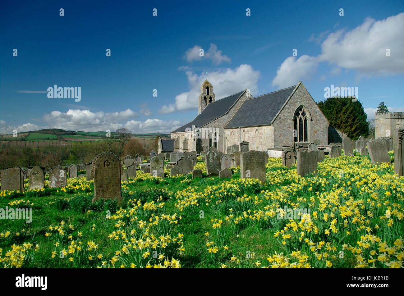 Ford Church, Northumberland Stock Photo