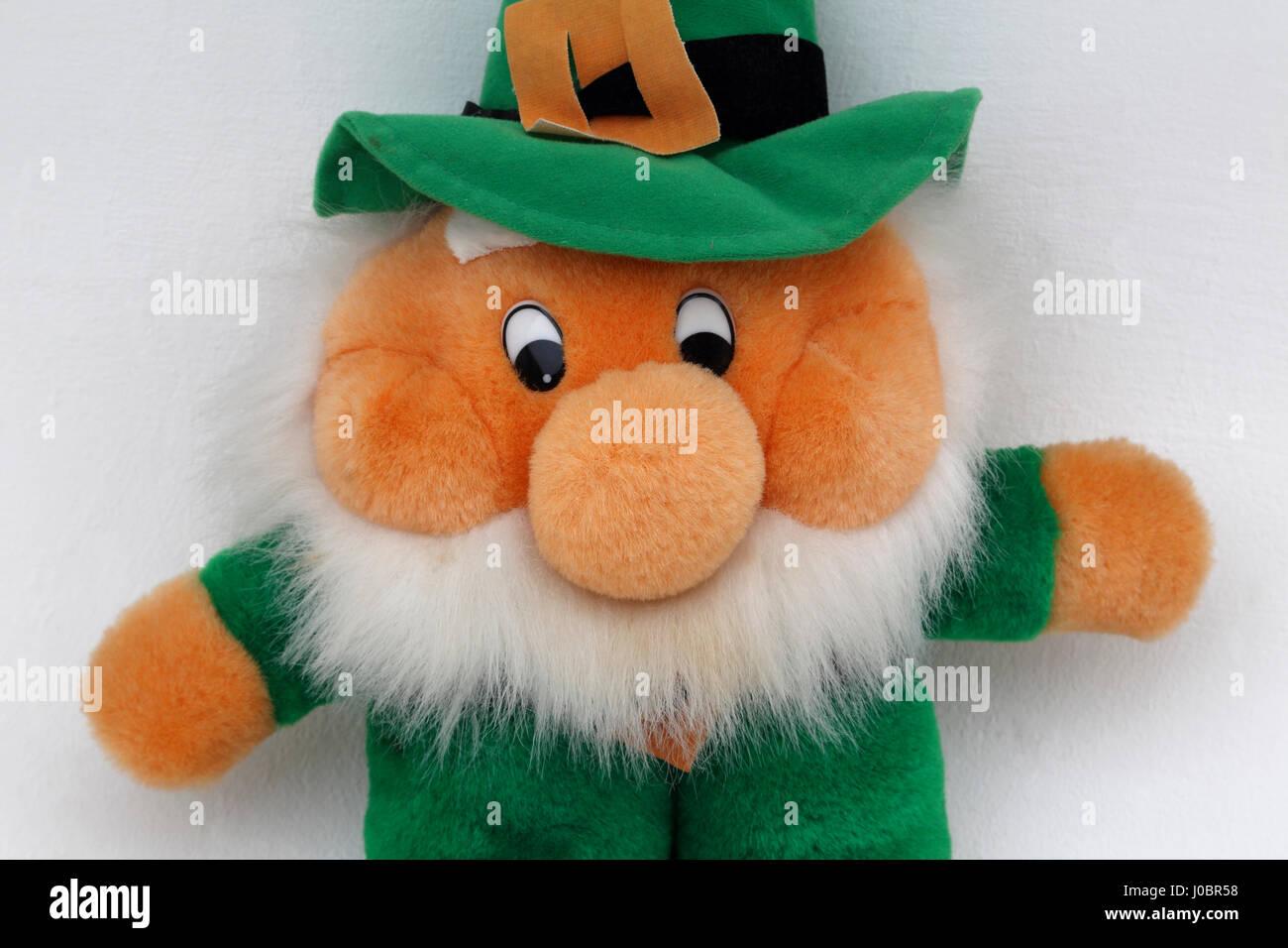 Leprechaun Toy Stock Photo