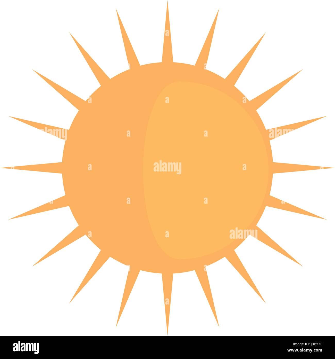 sun day funny sunny image - Stock Vector