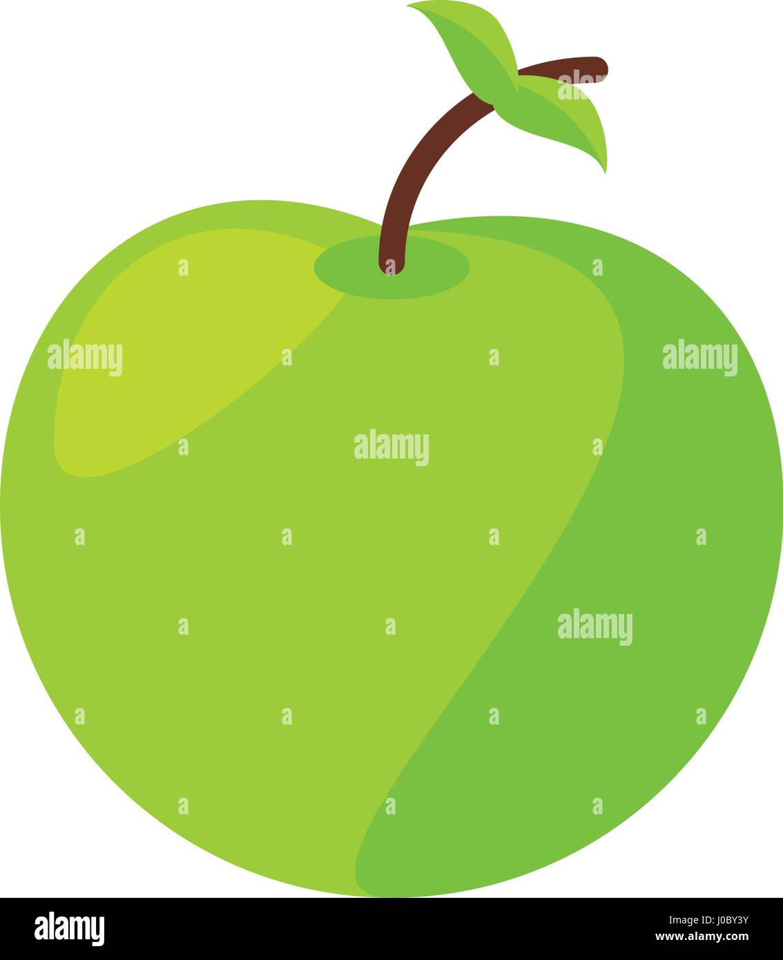 apple food healthy image - Stock Vector