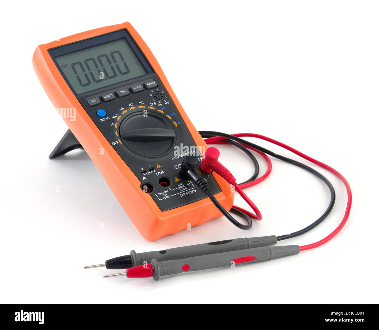 Electronic Multimeter - Stock Image