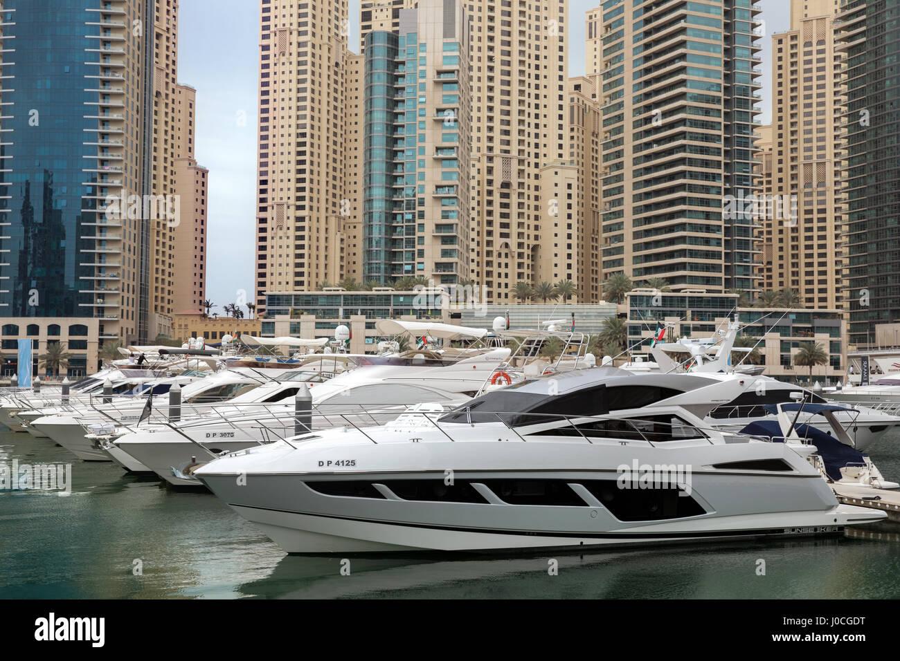 Dubai Marina, Dubai - Stock Image
