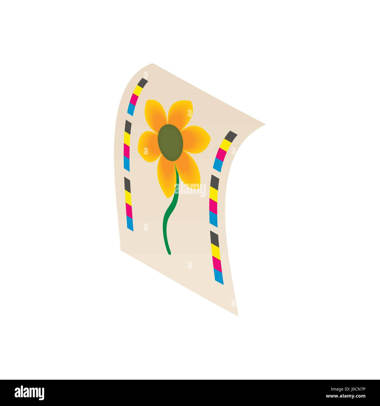 Flower Press Stock Vector Images Alamy