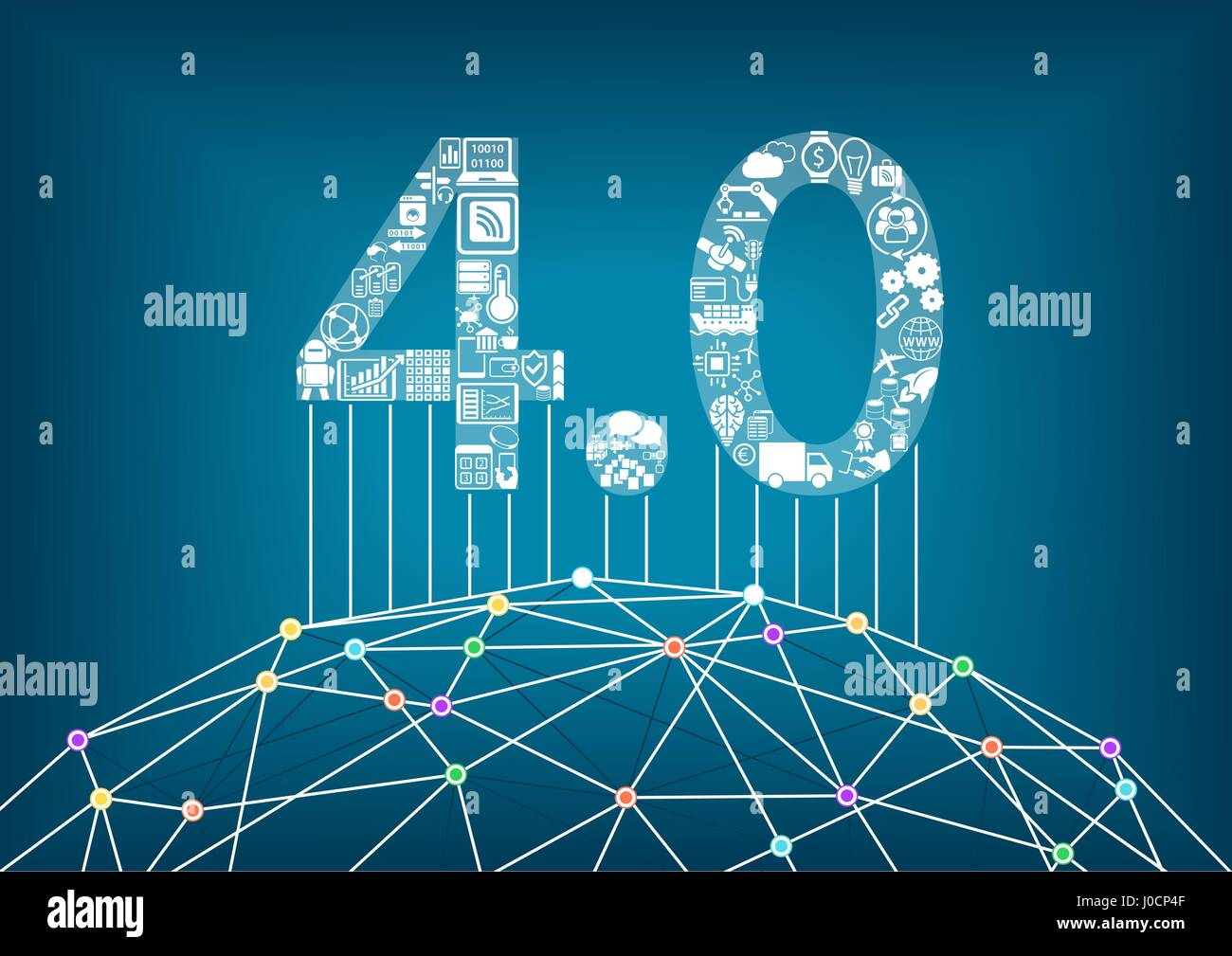 Industry 4.0 and industrial internet of things concept ...