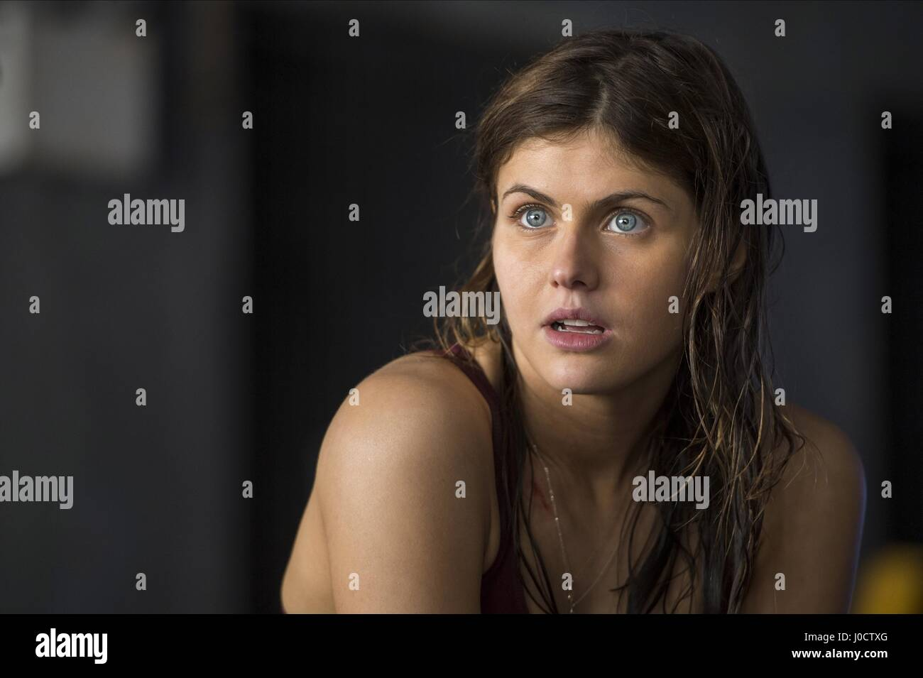 Alexandra Daddario San Andreas 2015 Stock Photo Alamy