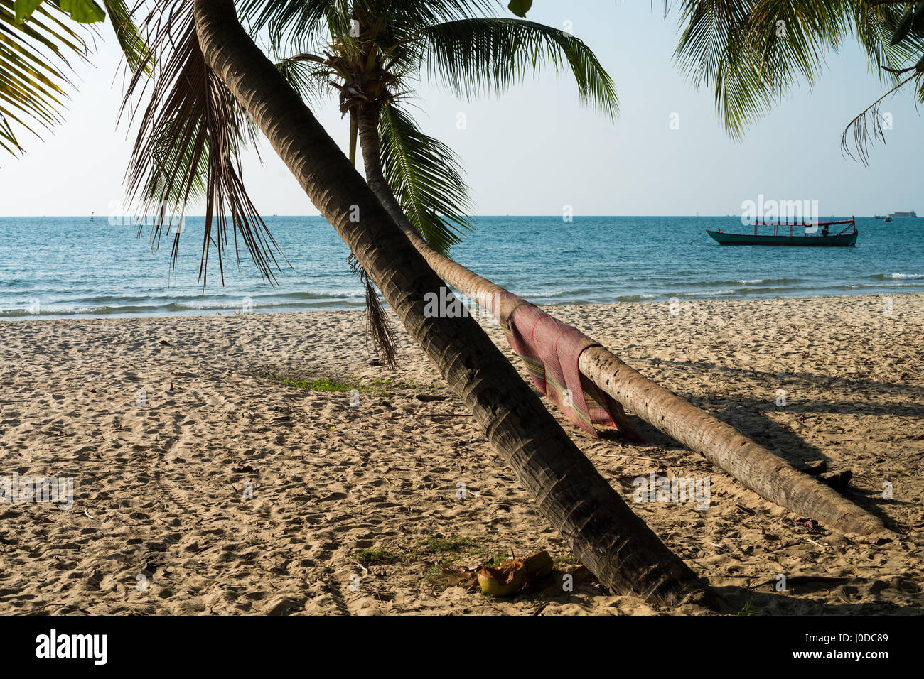 Hawaii Beach in the Sihanouk , Cambodia, Asia. Stock Photo