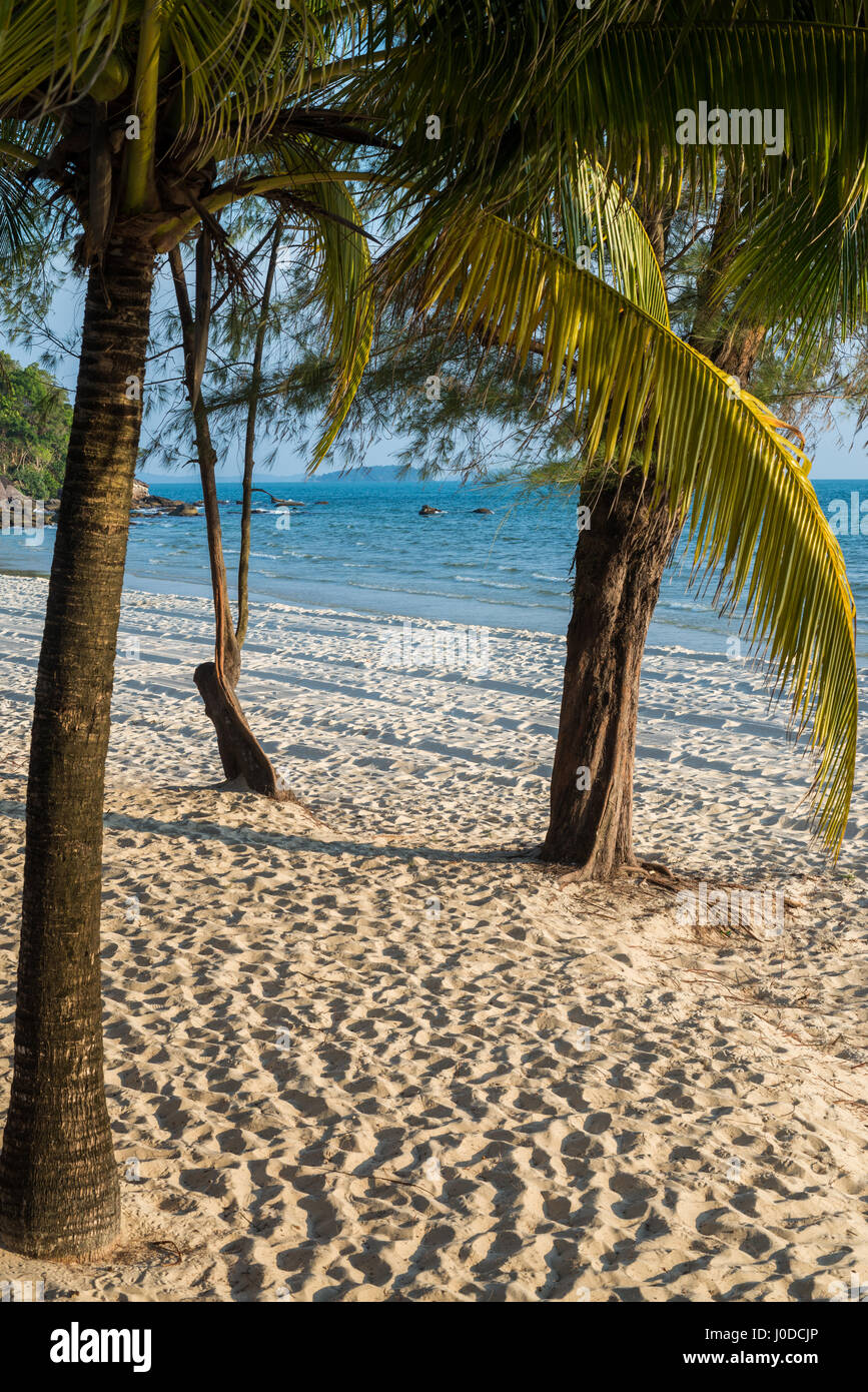 Independence Beach in the Sihanouk , Cambodia, Asia. - Stock Image