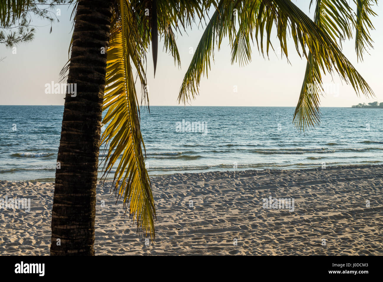 Independence Beach in the Sihanouk , Cambodia, Asia. Stock Photo