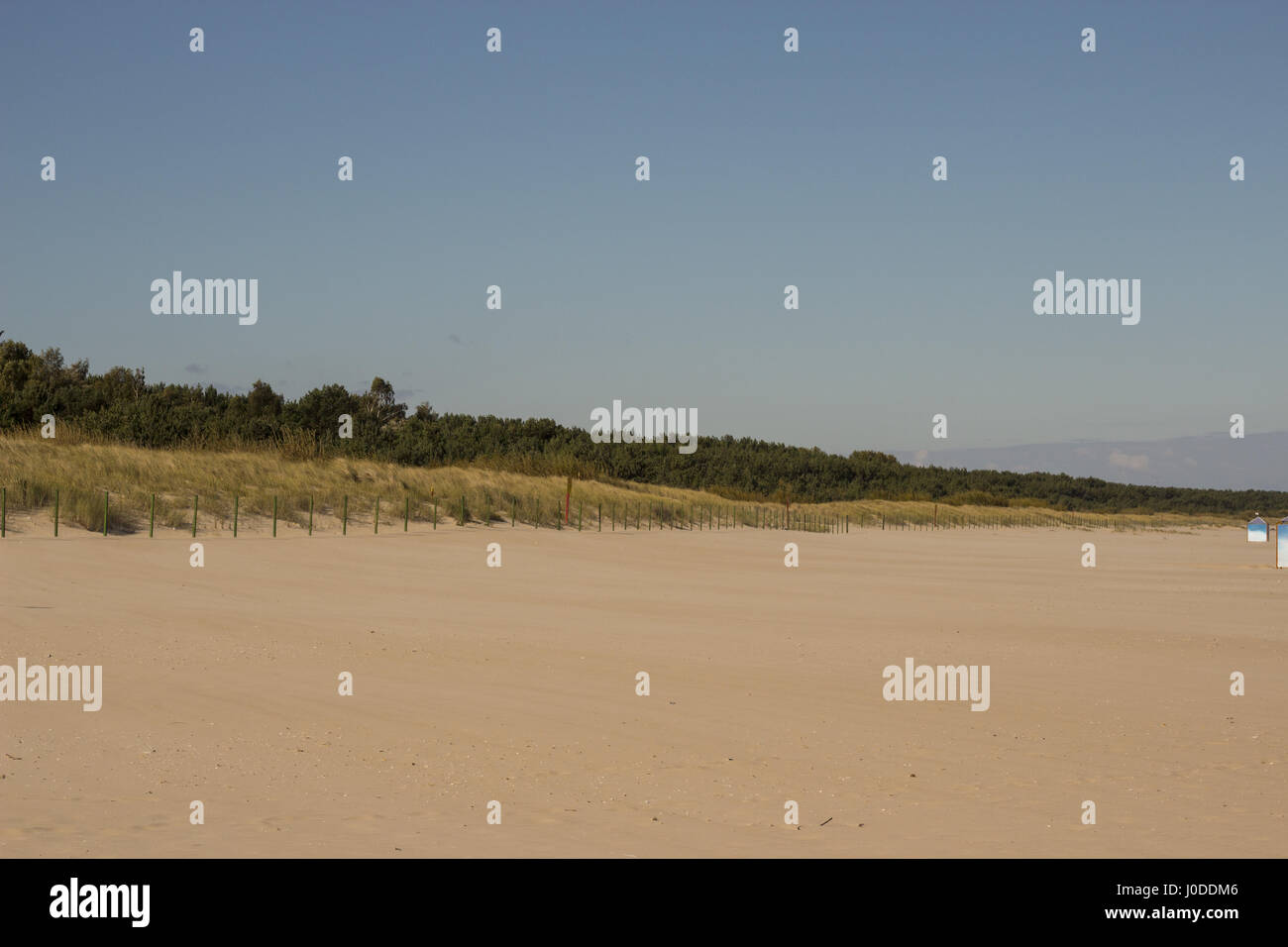 Swinemünde, Beach in Ahlbeck Stock Photo