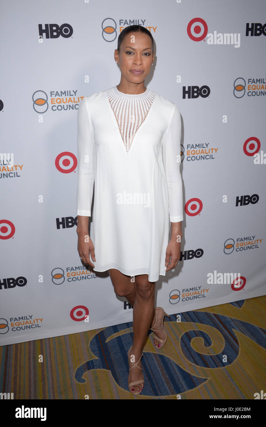 Family Equality Council's Impact Awards at the Beverly Wilshire Hotel in Beverly Hills - Arrivals  Where: Los Angeles, - Stock Image