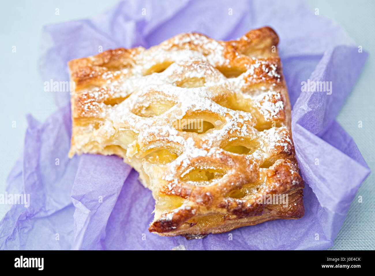 Apple pastry - Stock Image