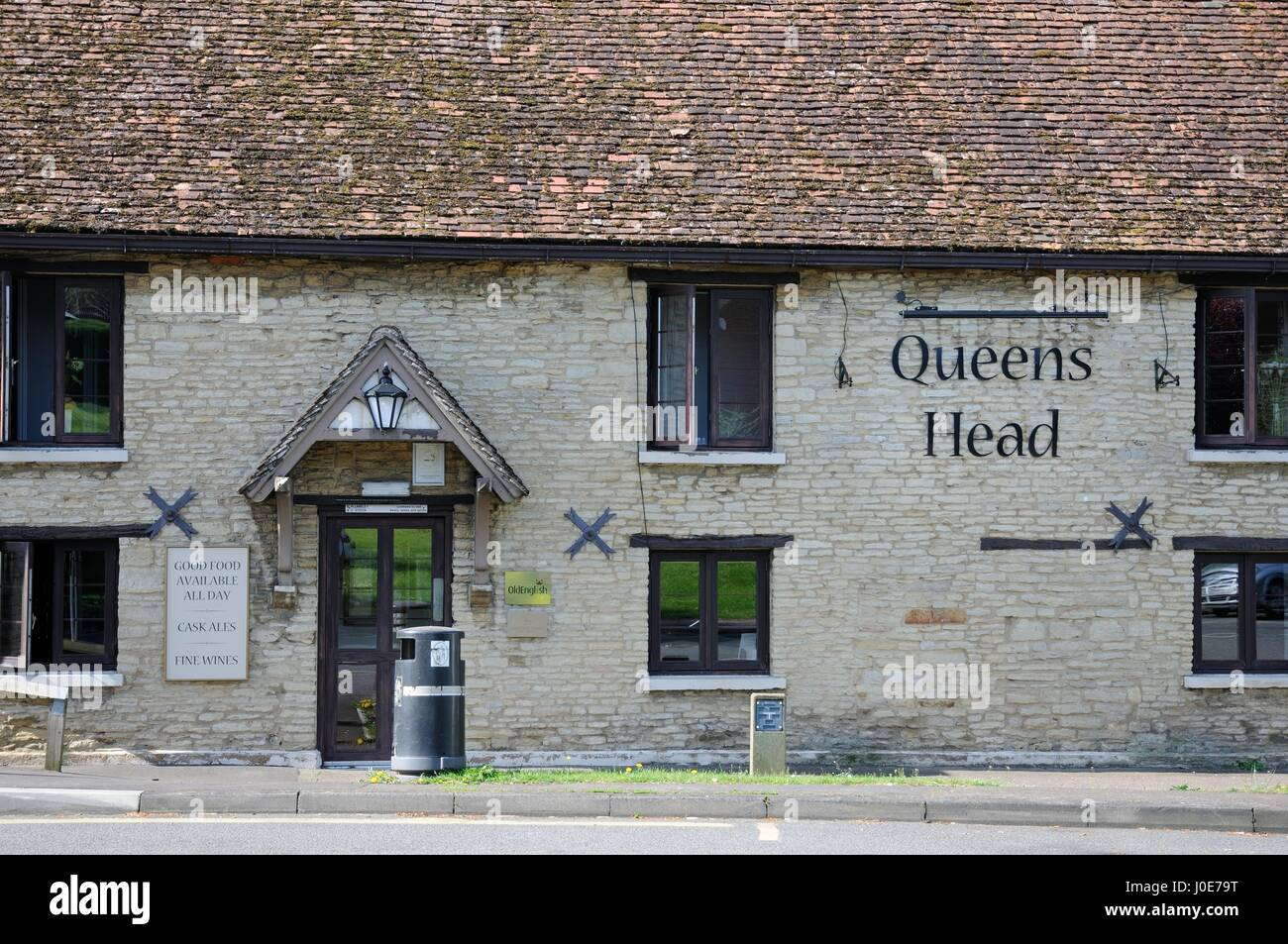 Queens Head, Milton Ernest, Bedfordshire - Stock Image