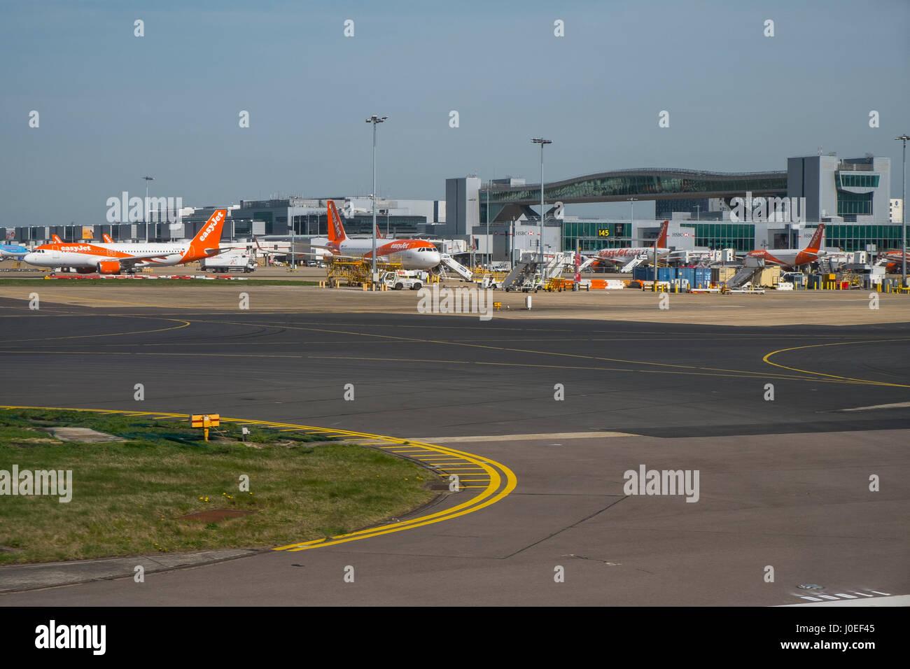 gatwick airport - Stock Image