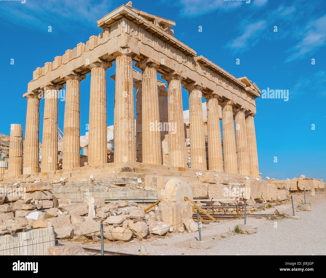 Parthenon Is The Pearl Of Ancient Greece Architecture And Is The