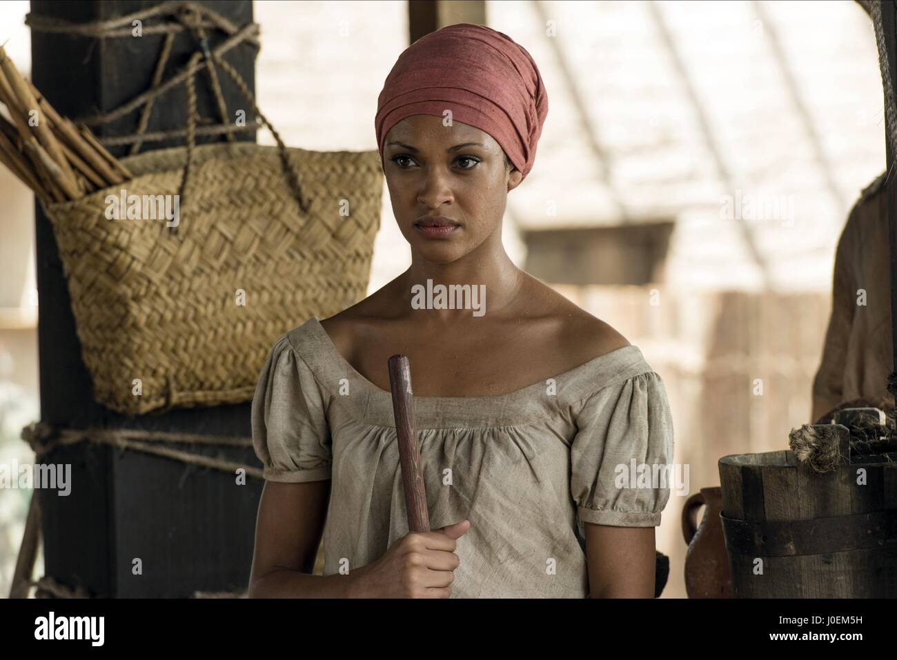 CYNTHIA ADDAI-ROBINSON TEXAS RISING (2015) Stock Photo